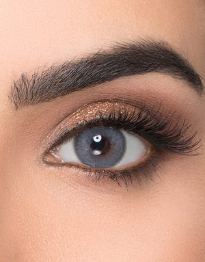 خرید لنز طوسی آبی متوسط روشن دور دار برند ویکتوریا