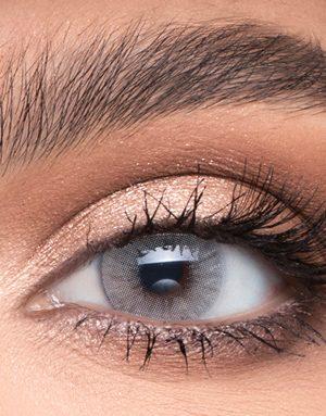 خرید لنز طوسی متوسط روشن بدون دور برند لازورد
