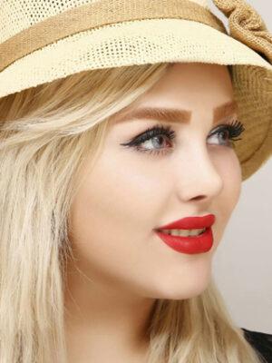 خرید لنز طوسی بدون دور برند آیس کالر