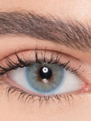 خرید لنز آبی سبز بدون دور برند نچرال