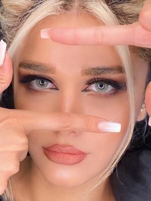 خرید لنز رنگی آیس کالر لایت مارس
