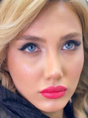 خرید لنز رنگی لولیتا مایا بلو