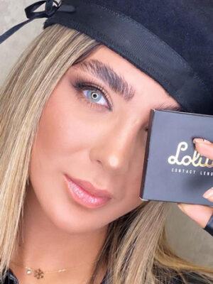 خرید لنز زیبایی لولیتا رنگ اسکای بلو