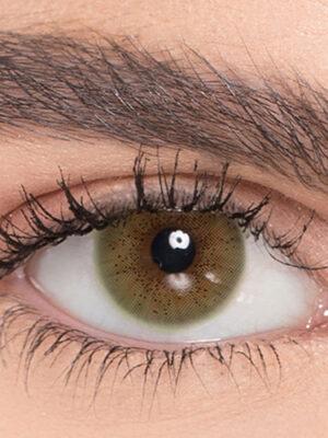 خرید لنز سبز بدون دور برند نچرال