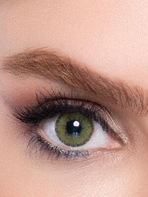 خرید لنز سبز جنگلی دور دار برند لابلا