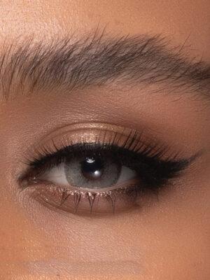 خرید لنز طوسی دور مشکی برند رینبو سری آیس