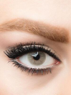 خرید لنز طوسی روشن بدون دور برند استلا