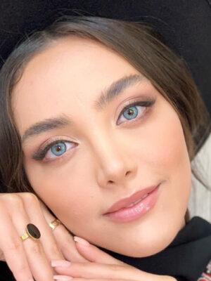 خرید لنز رنگی شیخ آکوا