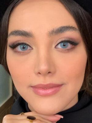 خرید لنز رنگی شیخ بیوتی بیبی بلو