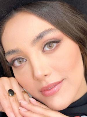 خرید لنز رنگی شیخ بیوتی هیزلنات