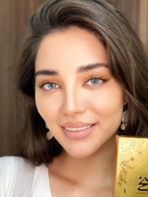 خرید لنز شیخ بیوتی رنگ آکوا