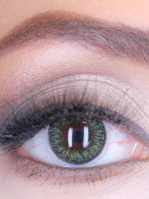 خرید لنز سبز دور مشکی برند فستیوال