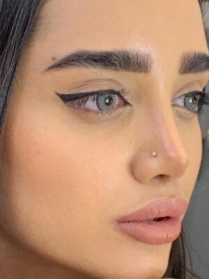خرید لنز طوسی سبز دور دار برند ایلوژن کالر
