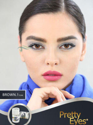 خرید لنز رنگی مارشال براون تن1