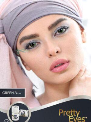 خرید لنز رنگی مارشال گرین تن3