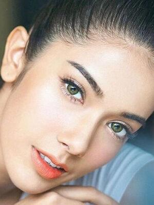 خرید لنز رنگی ایر اپتیکس گرین