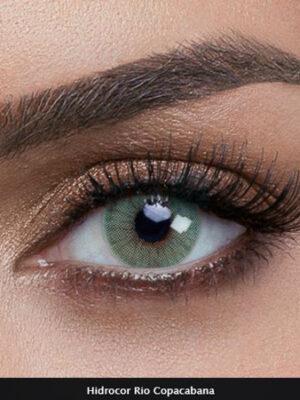 خرید لنز سبز روشن برند سولوتیکا هیدروکور ریو