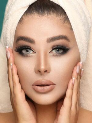 خرید لنز طوسی سبز بدون دور برند کلیر ویژن