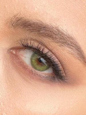 خرید لنز سبز بدون دور برند آمورا