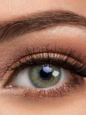 خرید لنز سبز بدون دور برند سولوتیکا هیدروکور جید