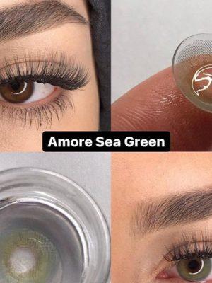 Elamor sea green lens